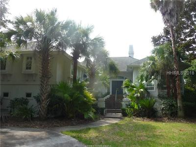 Hilton Head Island Single Family Home For Sale: 38 Ribaut Drive