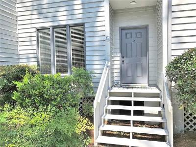 Hilton Head Island Condo/Townhouse For Sale: 19 Lemoyne Avenue #5
