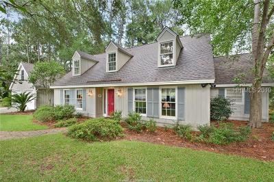 Hilton Head Island Single Family Home For Sale: 74 Saw Timber Drive