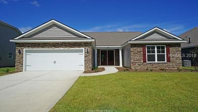 Bluffton SC Single Family Home For Sale: $324,990