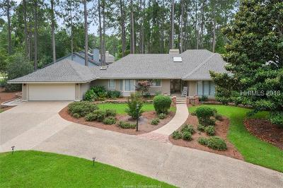 Hilton Head Island Single Family Home For Sale: 19 Rusty Rail Lane
