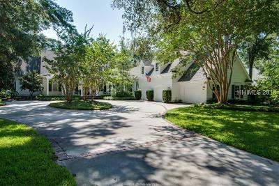 Hilton Head Island Single Family Home For Sale: 31 Brams Point Road