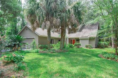 Hilton Head Island Single Family Home For Sale: 92 High Bluff Road