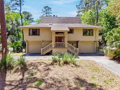 Hilton Head Island Single Family Home For Sale: 2 Rice Lane