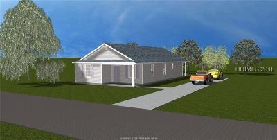Ridgeland Single Family Home For Sale: 469 Ridgeland Lakes Dr