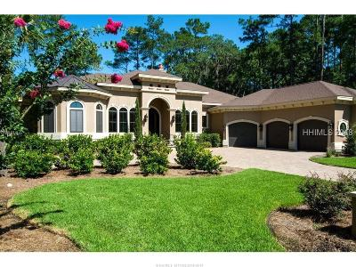 Bluffton Single Family Home For Sale: 35 Holly Grove Rd
