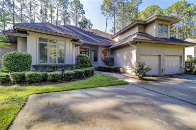 Hilton Head Island Single Family Home For Sale: 9 Whispering Pines Court