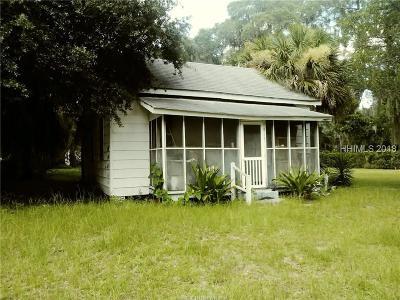 Beaufort Single Family Home For Sale: 1407 Washington Street