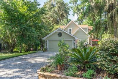Bluffton Single Family Home For Sale: 14 Minuteman Drive