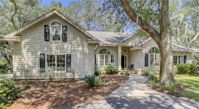 Hilton Head Island Single Family Home For Sale: 2 Magazine Place