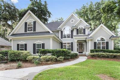 Hilton Head Island Single Family Home For Sale: 12 Cherry Hill Lane