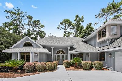 Hilton Head Island Single Family Home For Sale: 9 Bowline Bay Court
