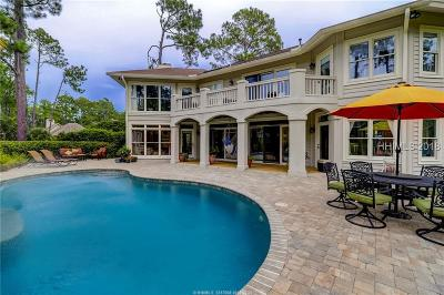 Hilton Head Island Single Family Home For Sale: 7 Sawtooth Court