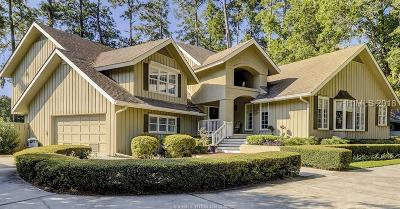 Hilton Head Island Single Family Home For Sale: 266 Moss Creek Drive