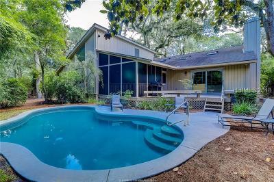 Hilton Head Island Single Family Home For Sale: 18 Gunnery Lane