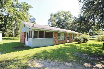 Jasper County Single Family Home For Sale: 155 River Bend Road