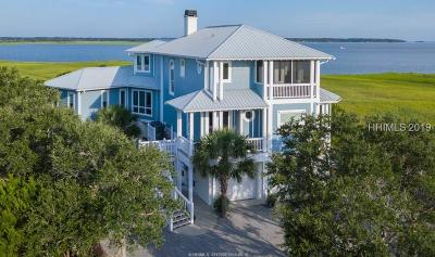 Saint Helena Island Single Family Home For Sale: 134 Harbour Key Drive