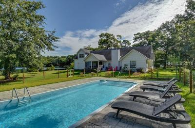 Beaufort Single Family Home For Sale: 36 Sherwood Lane