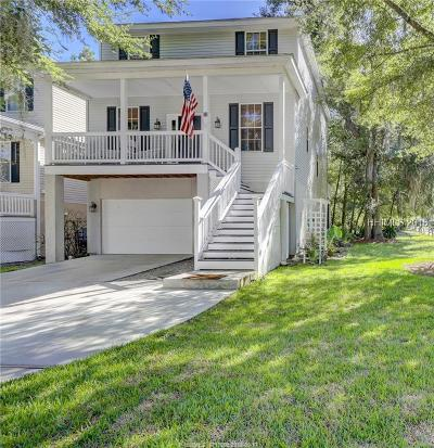 Hilton Head Island Single Family Home For Sale: 25 Gold Oak Court