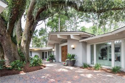 Hilton Head Island Single Family Home For Sale: 2 N Live Oak Road