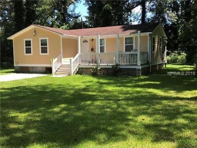Hardeeville Single Family Home For Sale: 280 Deerfield Road