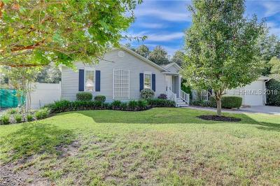 Bluffton Single Family Home For Sale: 12 Chipwood Lane