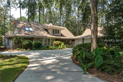 Hilton Head Island Single Family Home For Sale: 11 Wing Shell Lane