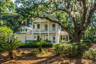 Saint Helena Island Single Family Home For Sale: 203 Locust Fence Road