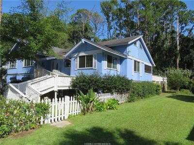 Hilton Head Island Single Family Home For Sale: 18 Goldfinch Lane