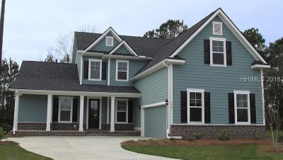 Bluffton SC Single Family Home For Sale: $479,990