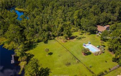 Single Family Home For Sale: 3912 Okatie Highway