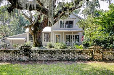 Bluffton Single Family Home For Sale: 33 Myrtle View St