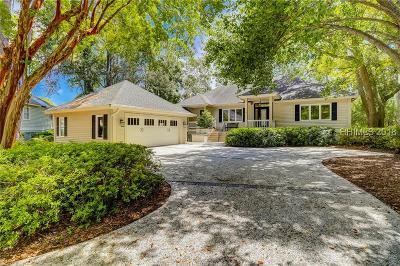 Hilton Head Island Single Family Home For Sale: 7 Topside