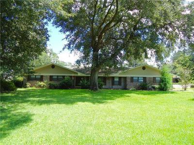 Ridgeland Single Family Home For Sale: 140 Franklin Circle