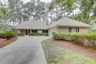 Hilton Head Island Single Family Home For Sale: 112 Headlands Drive