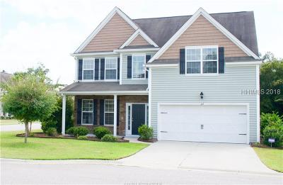 Bluffton Single Family Home For Sale: 213 Pickett Mill Boulevard
