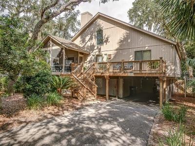 North Forest Beach Single Family Home For Sale: 76 Dune Lane