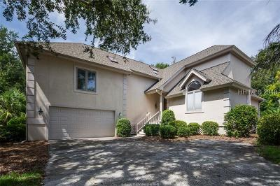 Hilton Head Island Single Family Home For Sale: 48 Fairway Winds Place
