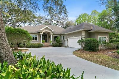Callawassie Island Single Family Home For Sale: 17 S Oak Forest Drive