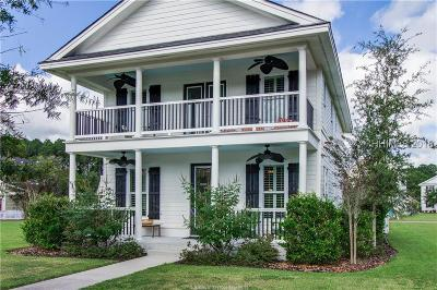 Bluffton Single Family Home For Sale: 27 Shell Hall Drive
