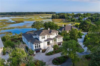 Hilton Head Island Single Family Home For Sale: 8 Everglade Place