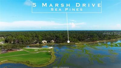 Hilton Head Island Residential Lots & Land For Sale: 5 Marsh Drive