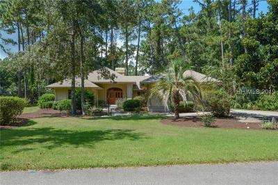 Hilton Head Island Single Family Home For Sale: 44 Hickory Forest Drive