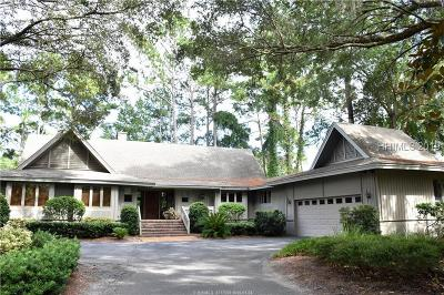 Hilton Head Island Single Family Home For Sale: 20 Combahee Road