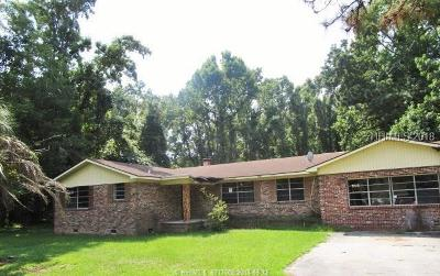 Beaufort Single Family Home For Sale: 167 Little Capers Road
