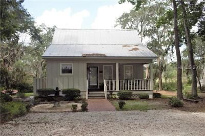 Jasper County Single Family Home For Sale: 54 Broad River Road