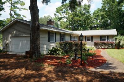 Beaufort Single Family Home For Sale: 7 Lake Court