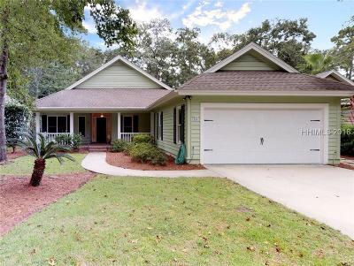 Bluffton Single Family Home For Sale: 11 Coventry Court