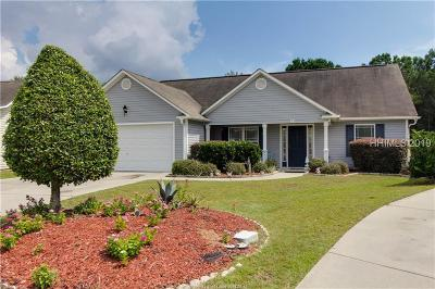 Bluffton Single Family Home For Sale: 15 Heartstone Circle