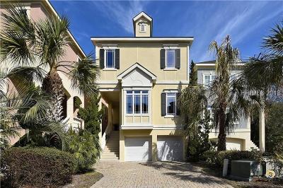 Hilton Head Island SC Single Family Home For Sale: $739,000